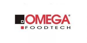 omega food preparation machines logo